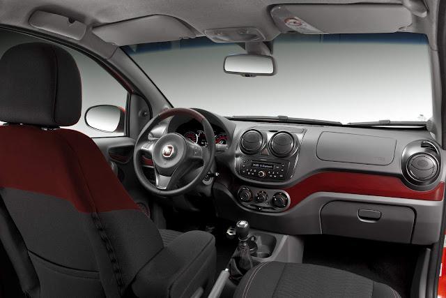 Fiat Palio 2016 - interior