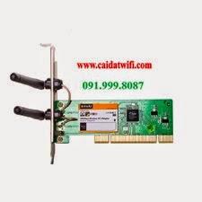 CARD THU WIFI TENDA 322P