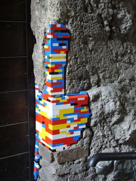 LEGO Art, Seni LEGO, Lego Walls