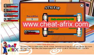 Cheat Atm Exp + Gold Fix 2013 Ninja Saga