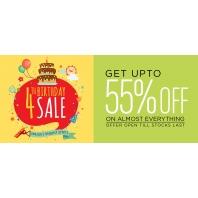 Pepperfry 4th Birthday Sale : Get upto 55% off : BuyToEarn