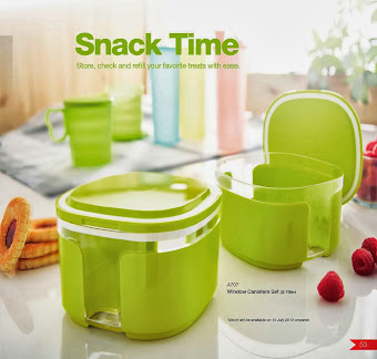 SNACK TIME TUPPERWARE MALAYSIA