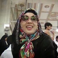 Foto Syahrini di Mekah