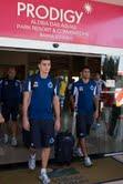 Prodigy Aldeia das Águas Park Resort & Conventions recebeu time do Cruzeiro Esporte Clube