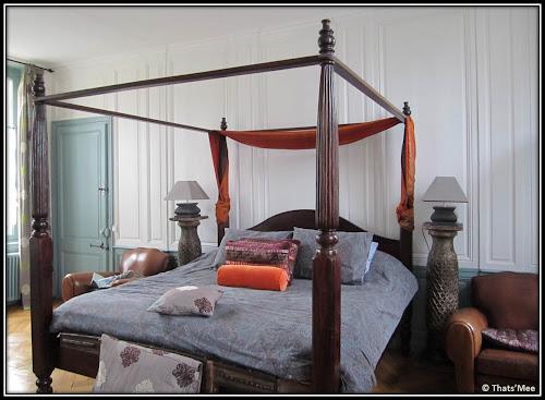 La Maison du Parc Honfleur tripadvisor Chambre Jasmin lit baldaquin