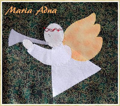 Patchwork e apliquê de natal, Decoração natalina, Decoração de natal, Maria Adna Ateliê, Publicado em revista
