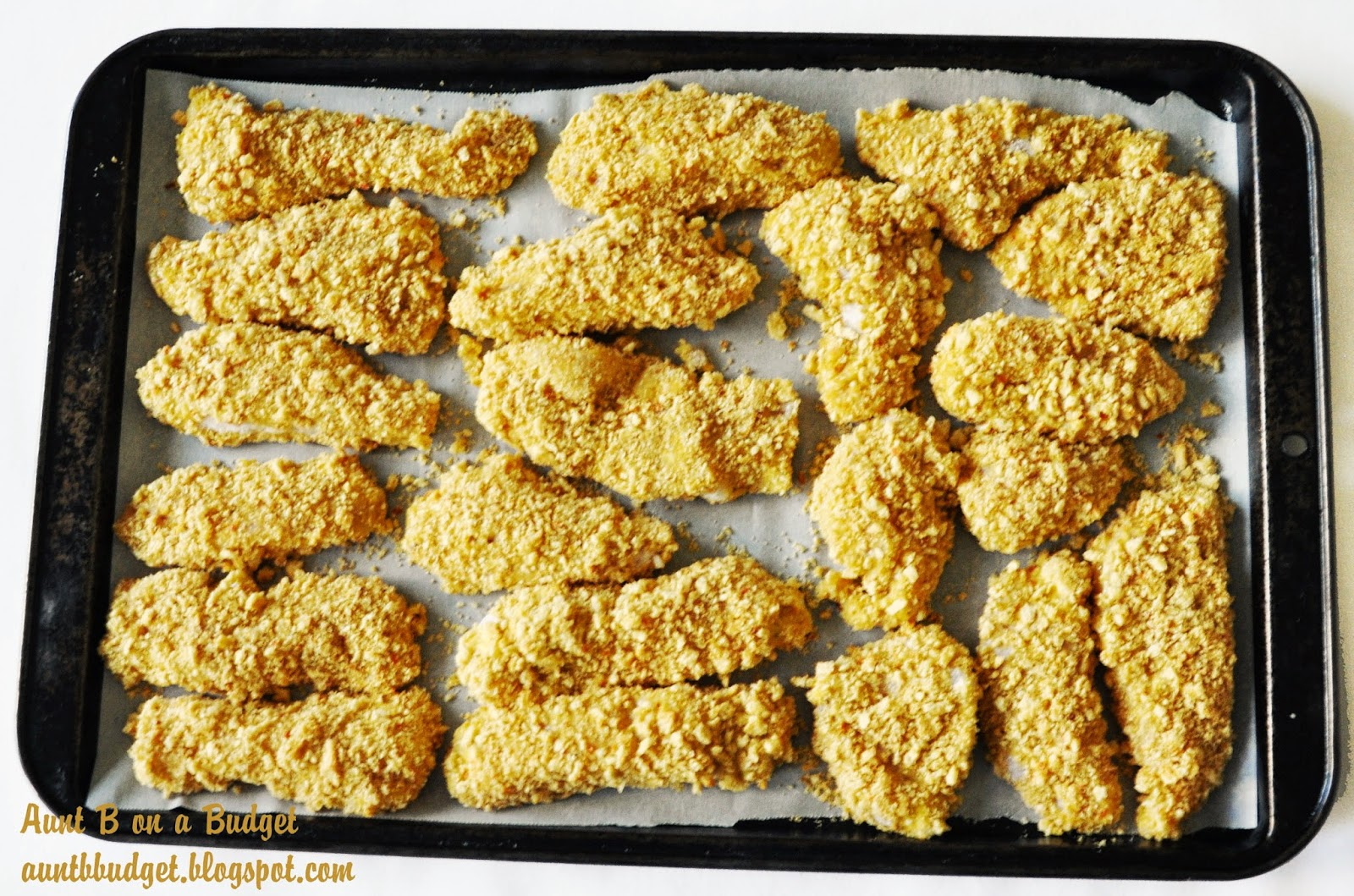 how to make crispy chicken strips with flour