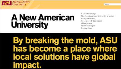 New American University Design Aspirations