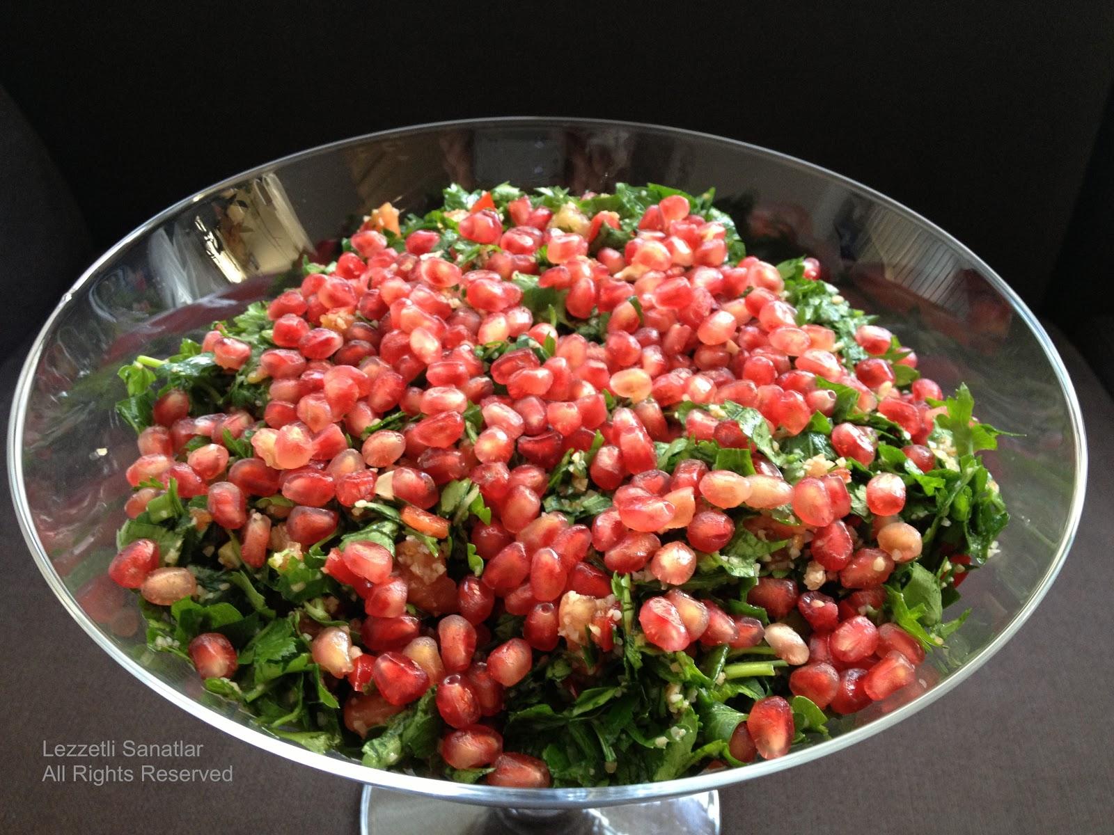 Roka Ve Maydanoz Salatası Tarifi