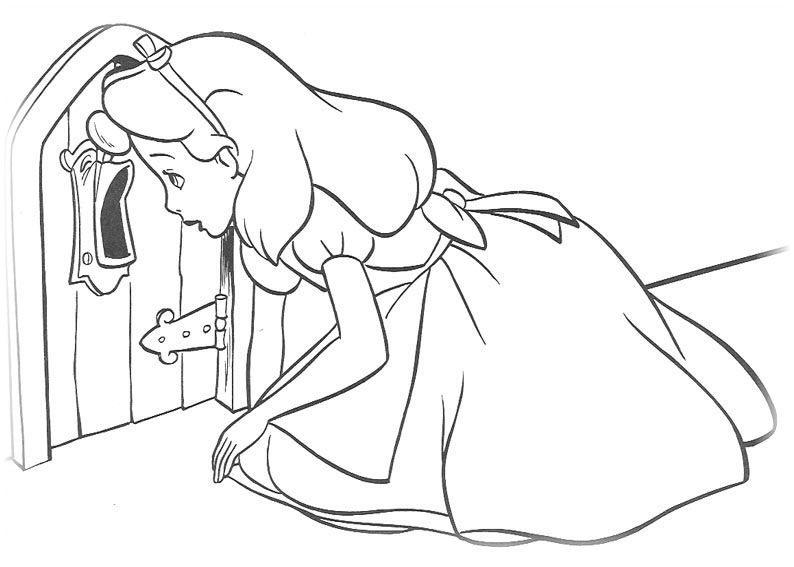 Alice im Wunderland Malvorlagen | Hapy Hapy