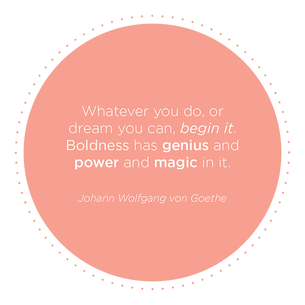 goethe, inspirational quote