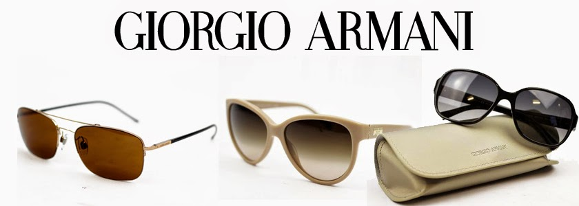 Giorgio Armani Mens and Womens Sunglasses online at Atom Retro