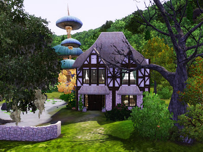 sims 3 witch cottage supernatural magic