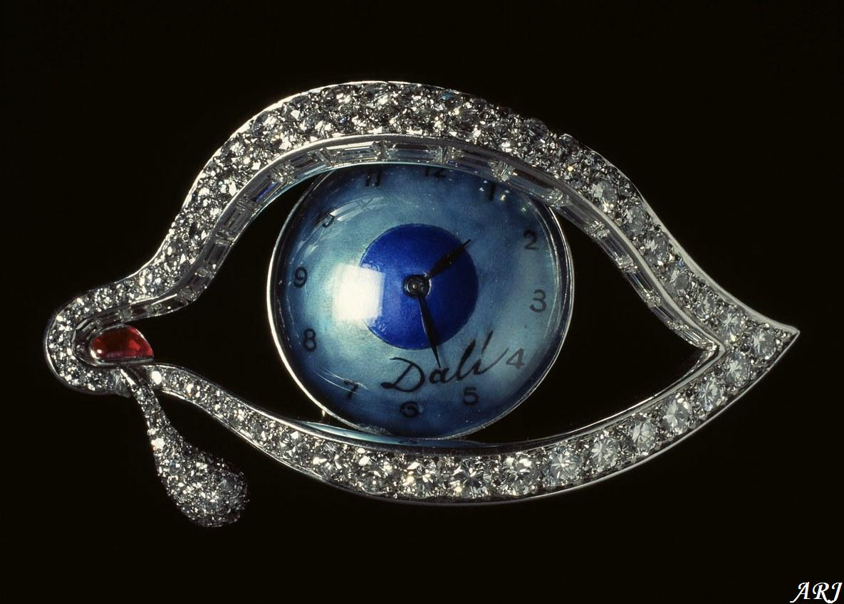 Salvador Dali Eye Jewelry
