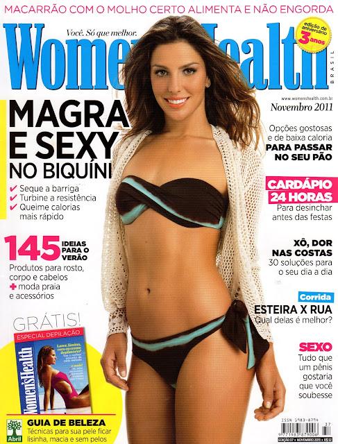 Revista008 - Hummm... Seja bem vindo, macarrão: Mariana Duro na Women's Health