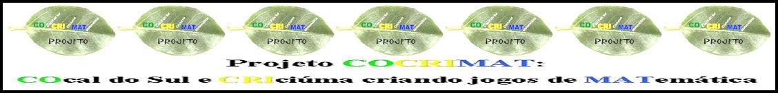 Projeto CoCriMat: COcal do Sul e CRIciúma  explorando MATemática