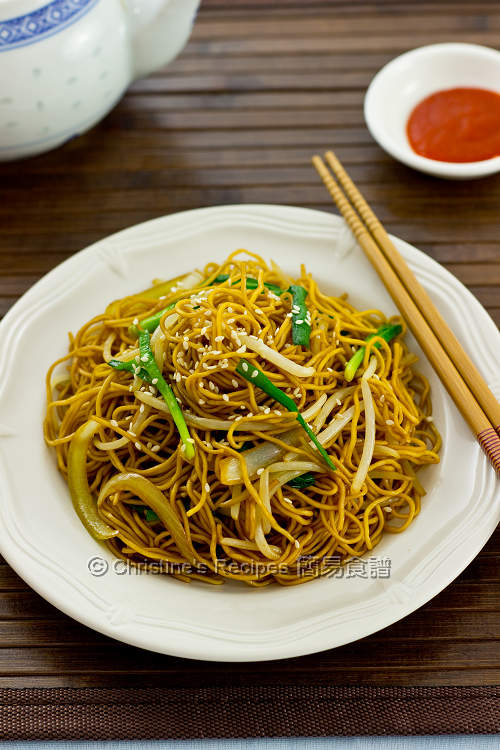 豉油皇炒麵 Supreme Soy Sauce Fried Noodles01