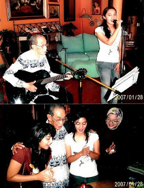 Keluarga Penulis  & Penyanyi Kami: Ikang Fawzi & Marissa Haque
