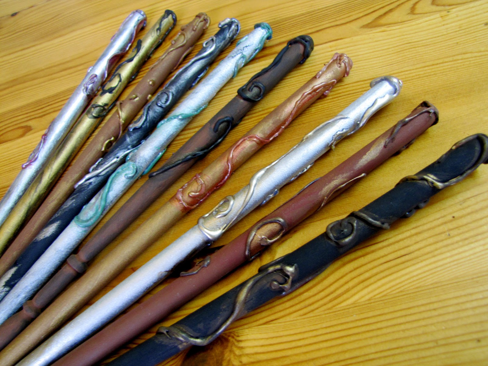 Germerican adventures harry potter wands for Birthday wand