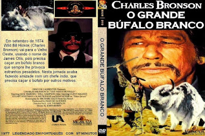 Filme O Grande Búfalo Branco DVD Capa