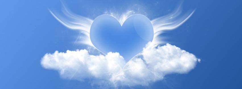 Ảnh bìa trái tim xanh