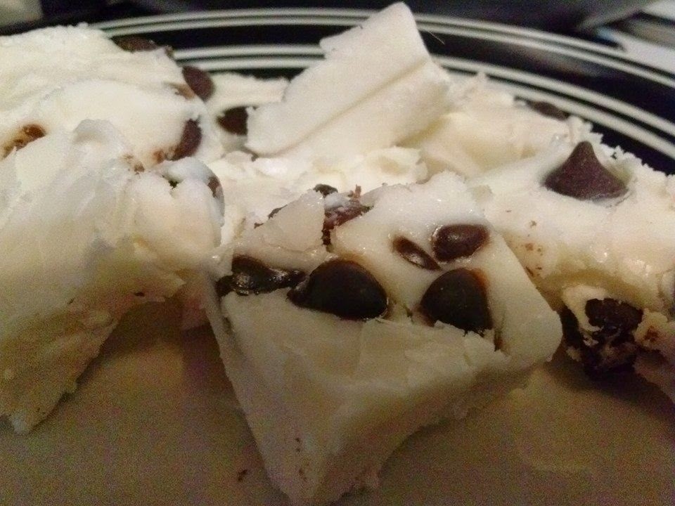 Sugar Free Cookie Dough Fudge