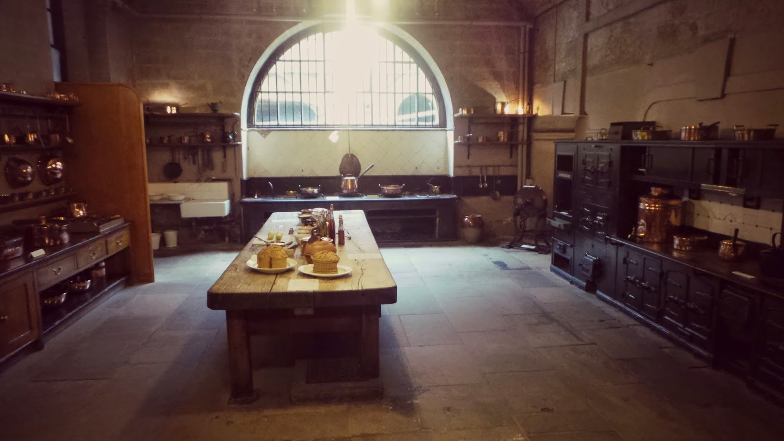 Harewood house kitchens
