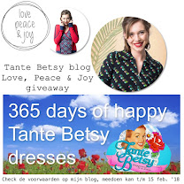 Tante Betsy blog Love, Peace & Joy giveaway