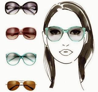 Kacamata untuk wajah oval