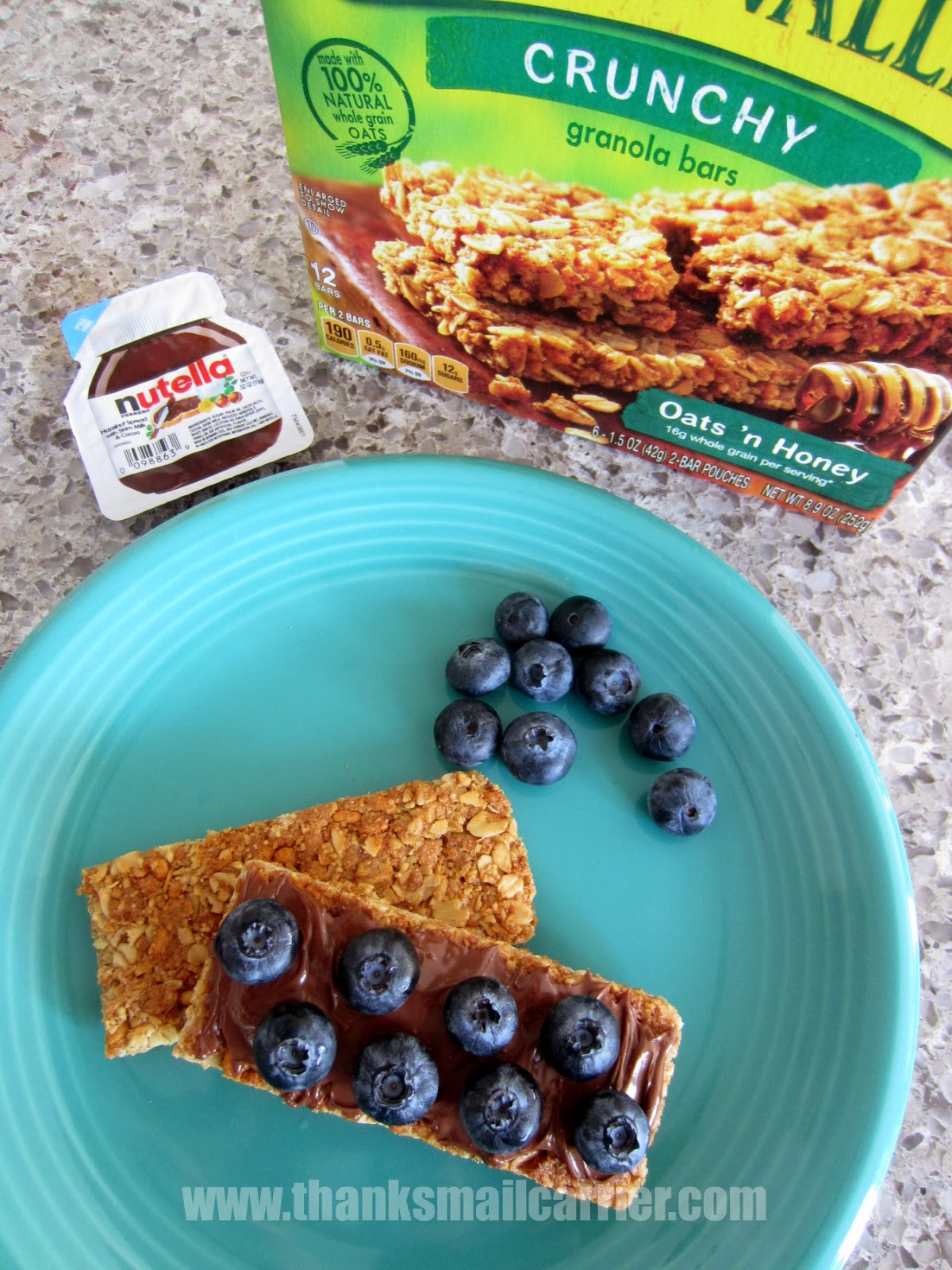 granola bars nutella