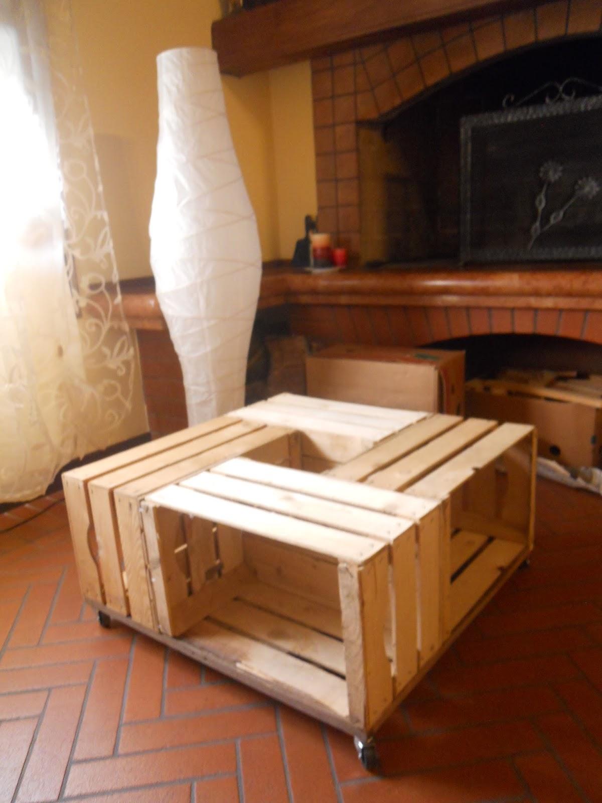 tavolino fai da te country e piattaia - Tavolini Soggiorno Fai Da Te 2