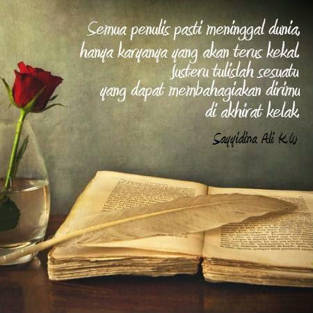 Ingatan Untuk Penulis