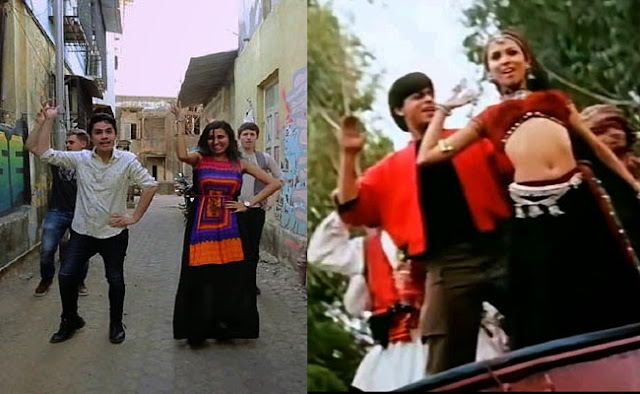 Shah Rukh Khan another fanatic of Chaiyya mashup