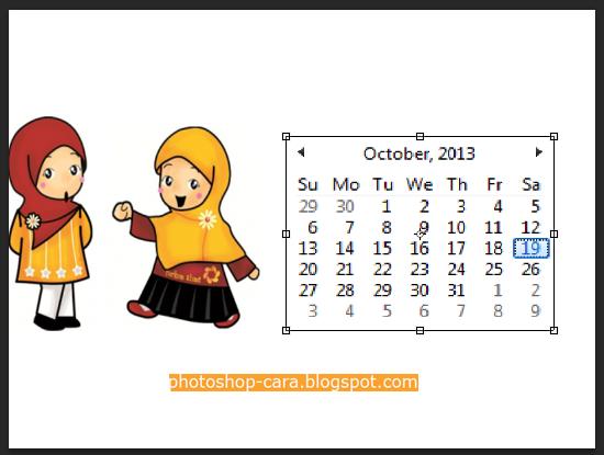 ... Membuat Kalender dengan Photoshop 2 (gambar lengkap) | Tips Photoshop