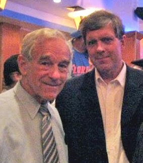 Ron Paul with Stormfront website founder Don Black