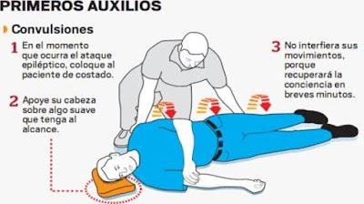 Qué hacer en caso de convulsión