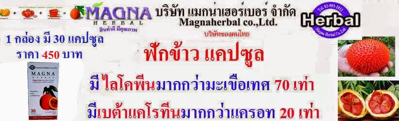 ฟักข้าวแคปซูล Magna Gac