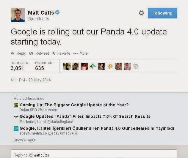 dampak google panda