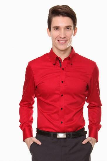 Men`s USA: Men&39s dress shirts - A way to wear a Red Dress Shirt