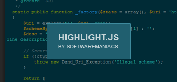 Highlight.js SyntaxHighlighter untuk Blogger