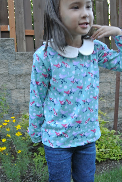 Tee Times Three T-shirt PDF Sewing Pattern by Blank Slate Patterns sewn by Sweet Cheeks Design