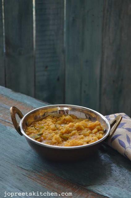 Vadakari (Bengal Gram Dhal Curry)