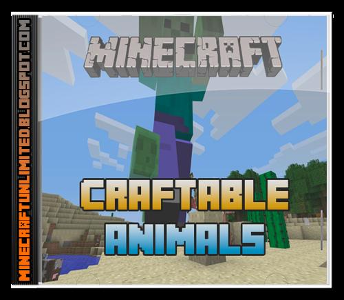 Craftable Animals Mod carátula