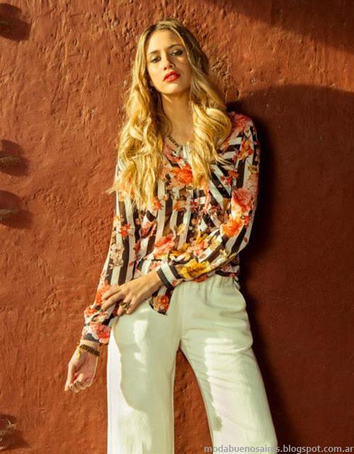 Moda verano 2014. Activity camisas de mujer 2014.