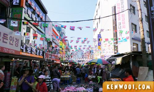 seoul namdaemun market
