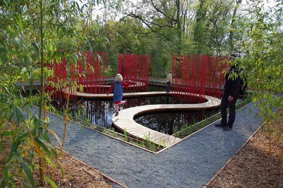 A Sweet Rain Garden | Haskovo playgrounds: