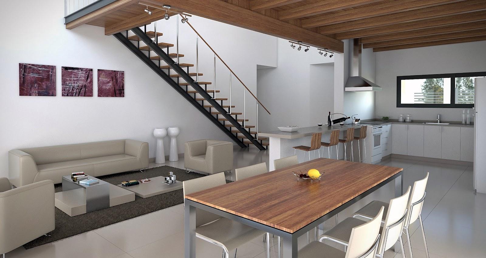 Interior vivienda renderland for Vivienda interior