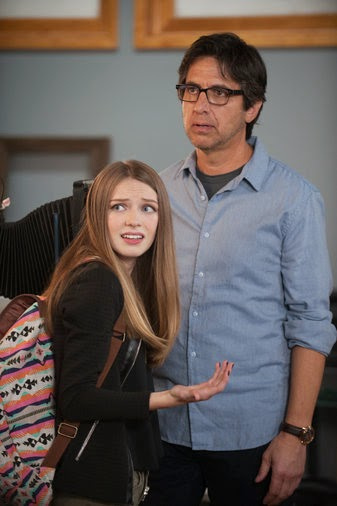 Ray Romano y Courtney Grosbeck en Parenthood