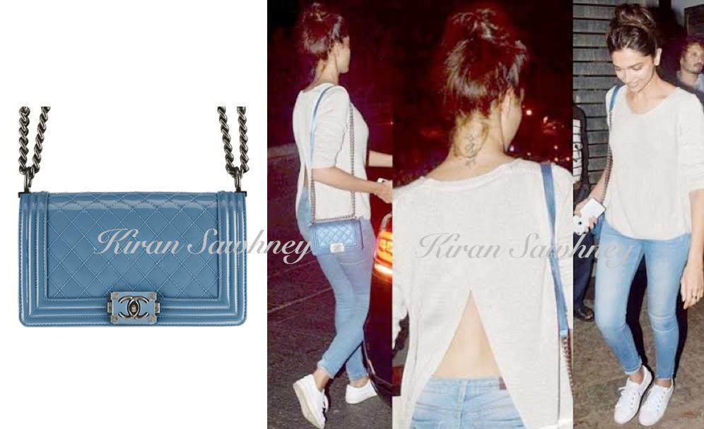 Deepika Padukone's Chanel bag