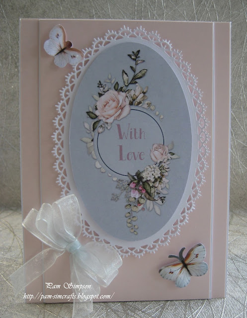 TATTERED LACE DIE CUTS TOPPERS ~ THE AVENUE ~ VANILLA PLUM